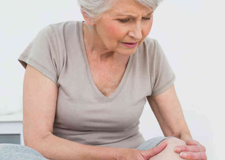 pacjent z bólem